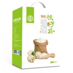 有机石磨饺子粉(全麦)3200g