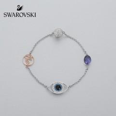SWAROVSKI 施华洛世奇-隐形磁扣手链镀白金色