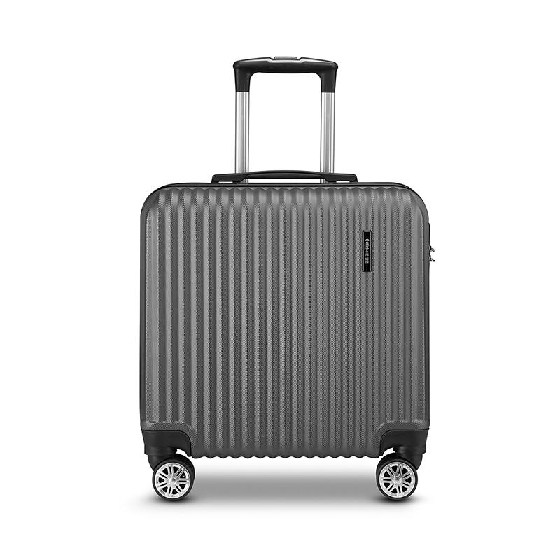 Edenbo爱登堡商务旅行拉杆箱18寸登机箱F926-2灰色